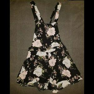 Floral Shorts Romper